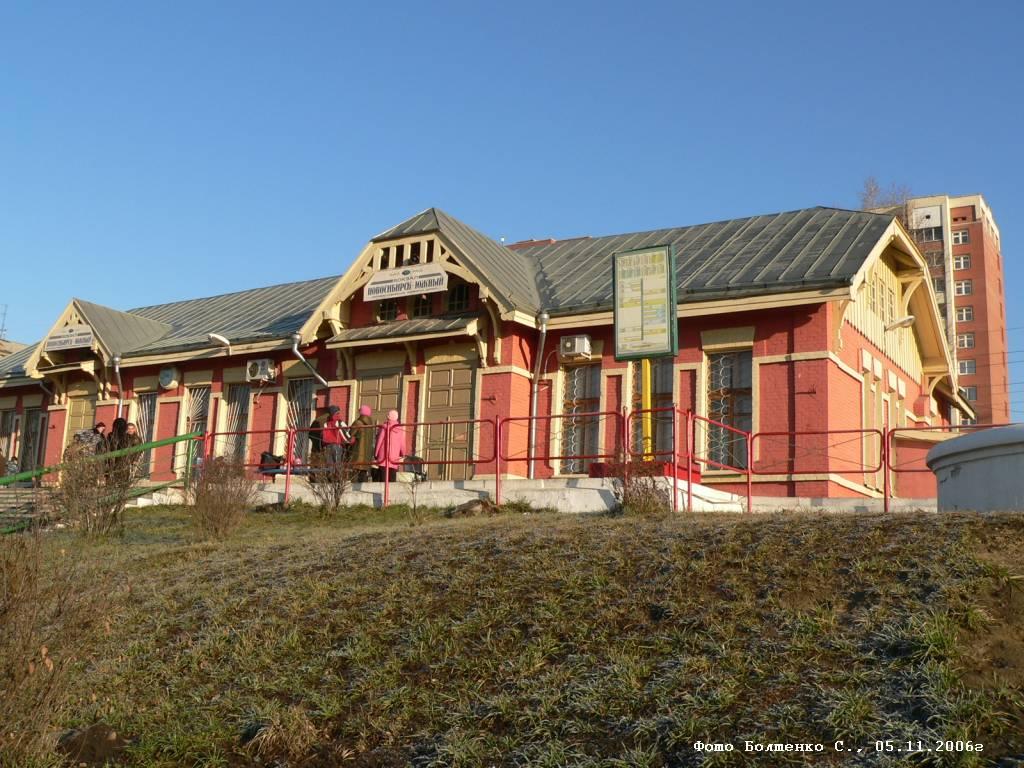Станция Калманка Западно-Сибирской ж.д., Алтайское отделение.