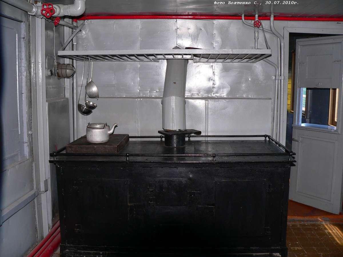 Печка в бытовке